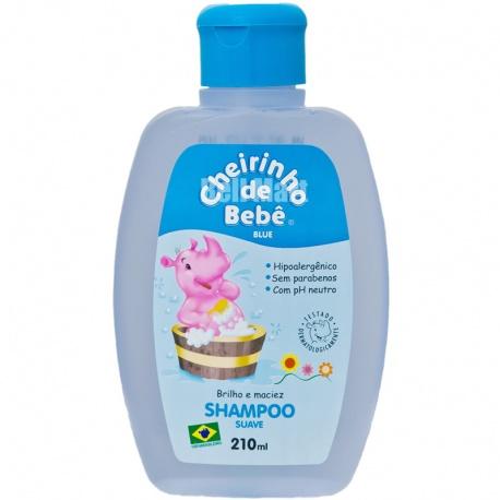 Cheirinho de Bebê Shampoo Azul 330ml