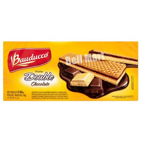 Bauducco Wafer Double Chocolate 140g