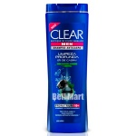 Clear Men Shampoo Anticaspa Limpeza Profunda 200ml