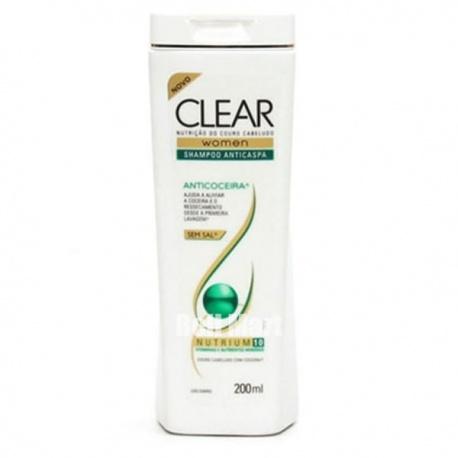 Clear Shampoo Anticaspa Nutritivo Alívio da Coceira Women