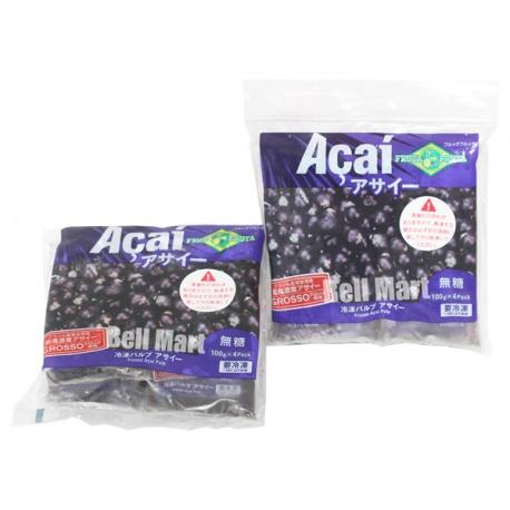 Fruta Fruta Polpa de Açaí 4un.X100gr.