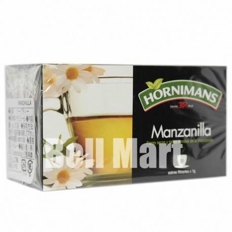 Hornimans Manzanilla 25un. x1gr
