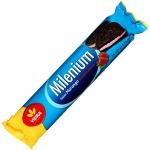 Milenium Biscoito Recheado Morango 163g