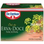 Dr.Oetker Chá de Erva-doce 10 saquinhos