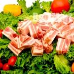 Costela de Porco S/ Osso C/ Pele 1kg