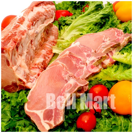 Bisteca de Porco com Osso Bloco 1kg