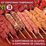 Kit Churrasco Espetinho Nº3