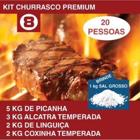 Kit Churrasco Premium Nº8