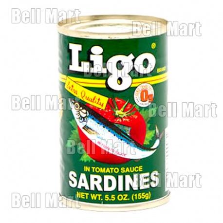Ligo Sardinhas ao Molho de Tomate 155g
