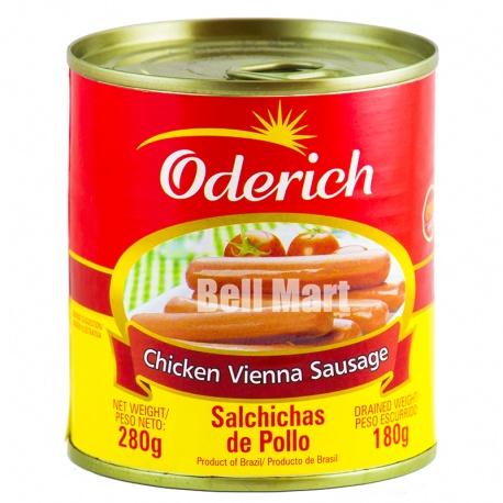 Oderich Salsicha Frango Tipo Vienna 180g