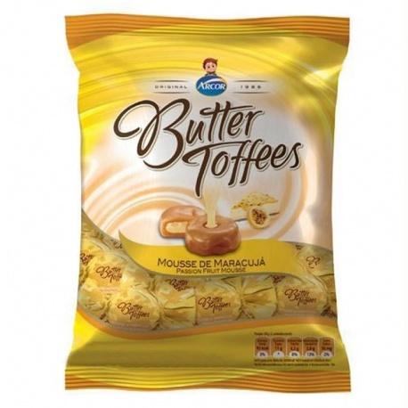 Arcor Butter Toffees Mousse de Maracujá 130g