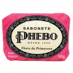 Phebo Sabonete Flores da Primavera 90g - Rosa