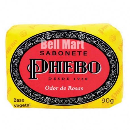 Phebo Sabonete Odor de Rosas 90g - Amarelo
