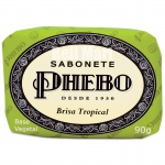 Phebo Sabonete Brisa Tropical 90g - Verde Claro
