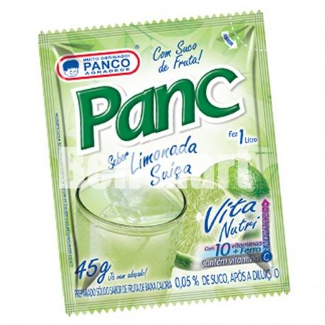 Panco refresco em pó sabor Limonada Suiça 45g