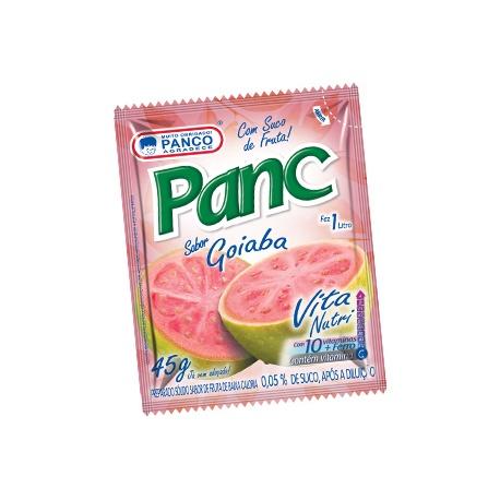 Panco refresco em pó sabor Goiaba 45g