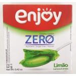 Enjoy Gelatina Limão Zero Açucar 12g