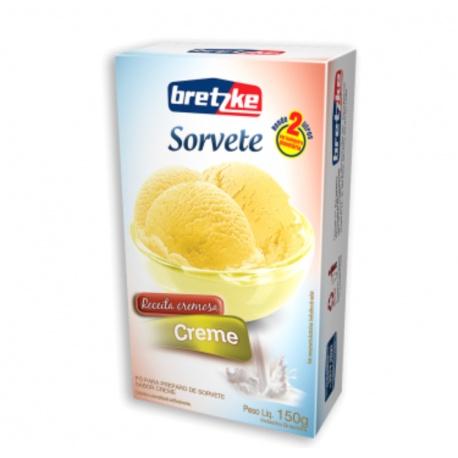 Bretzke Mistura para Sorvete Creme 150g