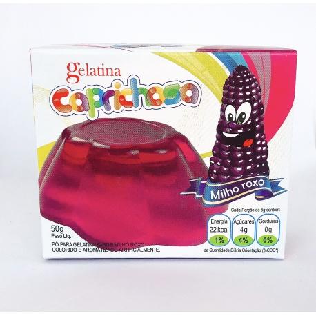 Caprichosa Gelatina Milho Roxo 50g