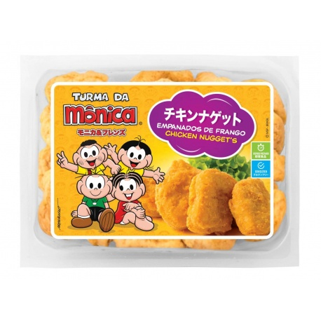 Turma da Monica Chicken Nuggets 350g