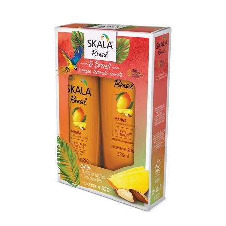Skala Kit Shampoo + Condicionador Manga e Castanha do Pará 325 ml