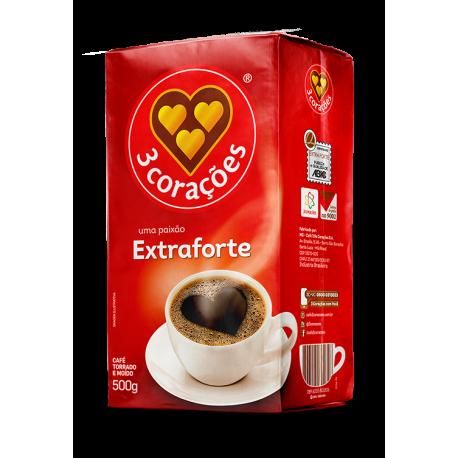 3 Corações Café Extraforte 500g