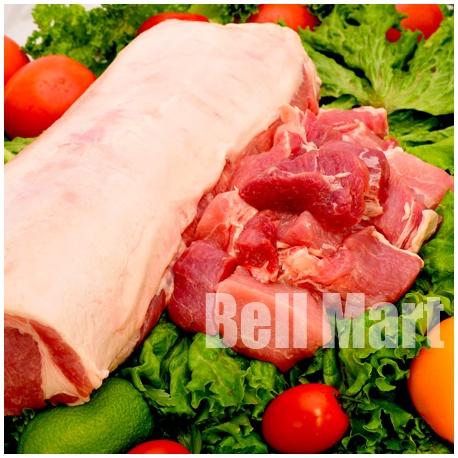 Bisteca de Porco Cubo 1kg