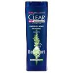 Clear Men Shampoo Anticaspa Controle e Alívio da Coceira