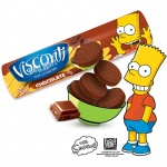 Visconti Biscoito Recheado Chocolate 125g