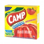 Camp Gelatina Morango 30g