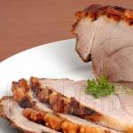 Pernil de Porco na brasa 1kg