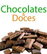 Chocolates e doces